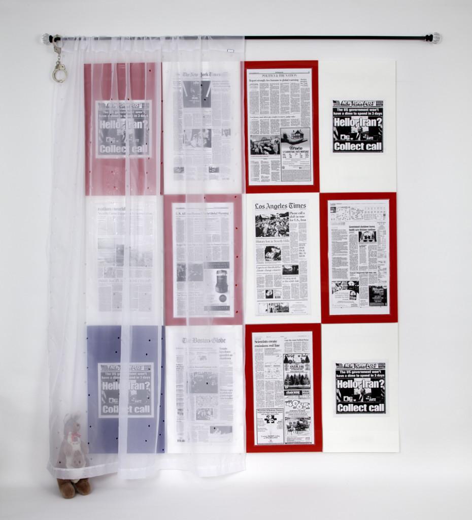 M. Annenberg, Check, Checkmate art installation